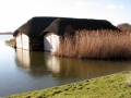 Boathouses on Hickling Broad  Picture kindly supplied by Evelyn Simak